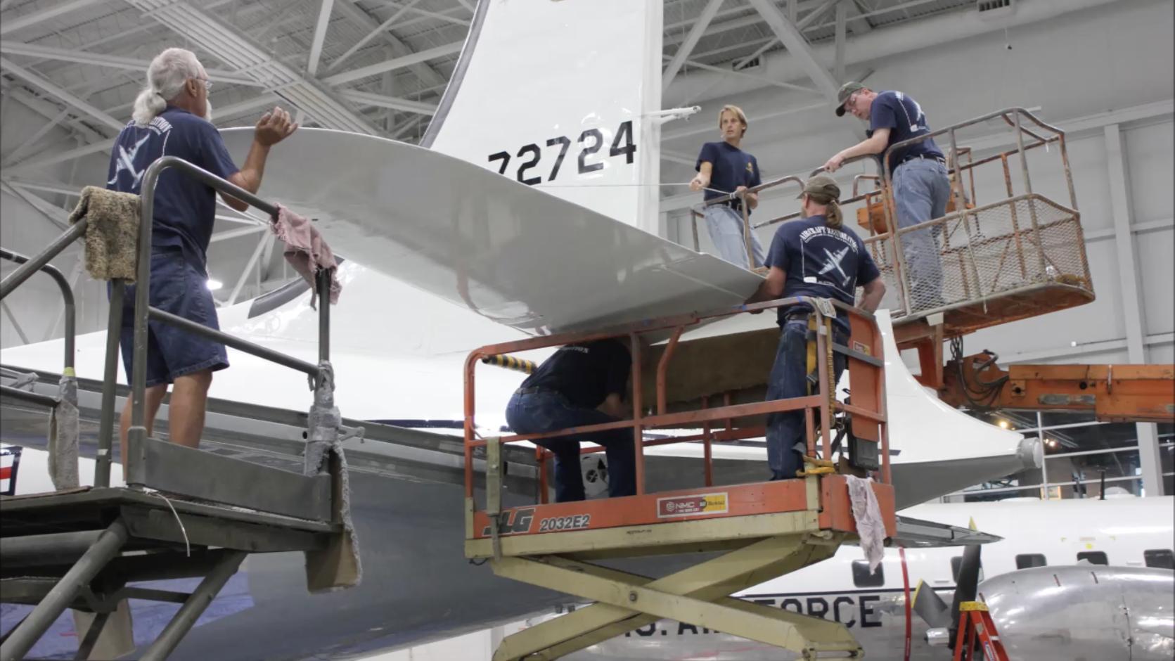 Restoration – Strategic Air Command & Aerospace Museum