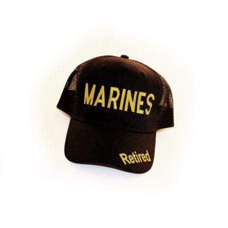Marines Hat Retired