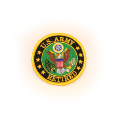 Army Retired Logo Patch