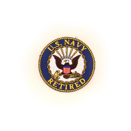 Navy Retired Logo Patch