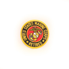 Marine Retired Logo Patch