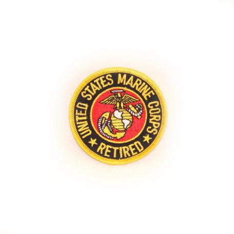 Marine Retired Logo Patch