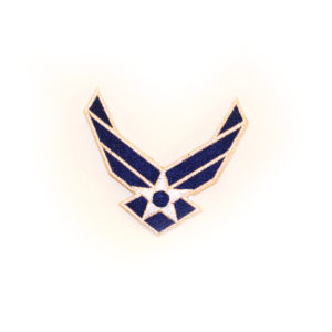 New Air Force Logo Patch