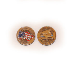 Marine Proudly Served Coin