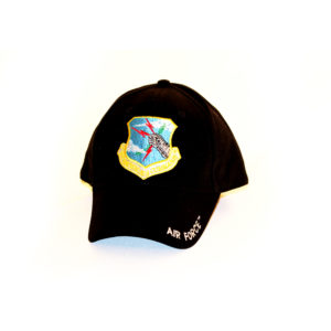 SAC Crest Hat Black