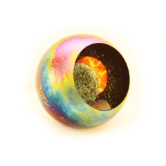 Solar Eclipse Paperweight