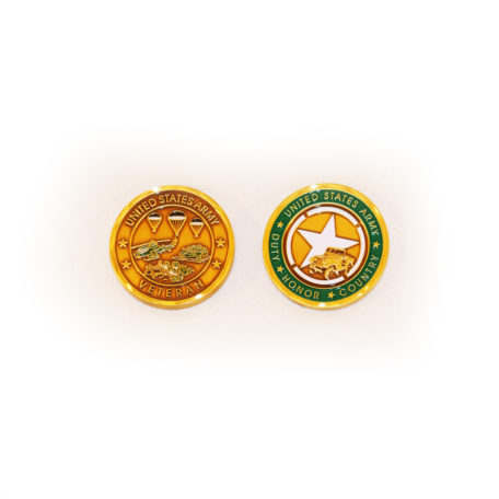 Army Vet Coin