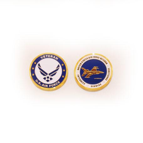 Air Force Vet Coin-Wings