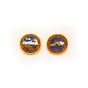 Navy Veteran Coin