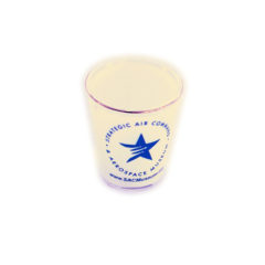 SACAM Gold Tipped Shotglass