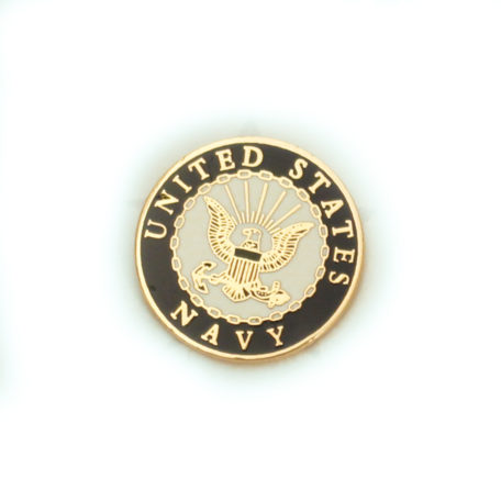 Navy Lapel Pin