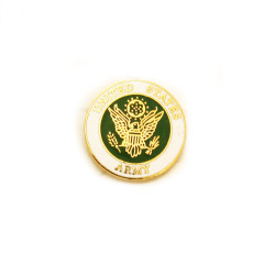 Army Lapel Gold