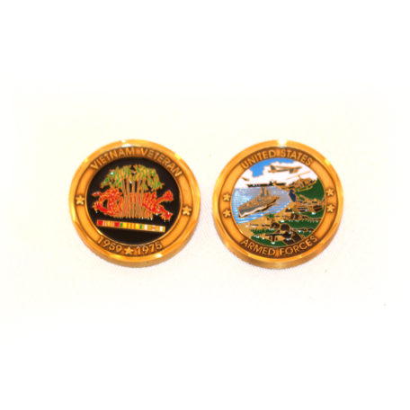 Vietnam Veteran Coin