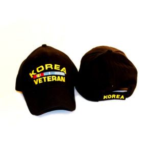 Korea-Veteran w/ Ribbons Hat