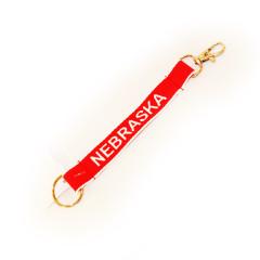 NE Keychain s/Clip Asst Colors