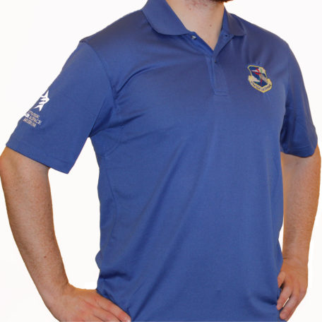 8255 SAC Crest Blue IZod Polo med