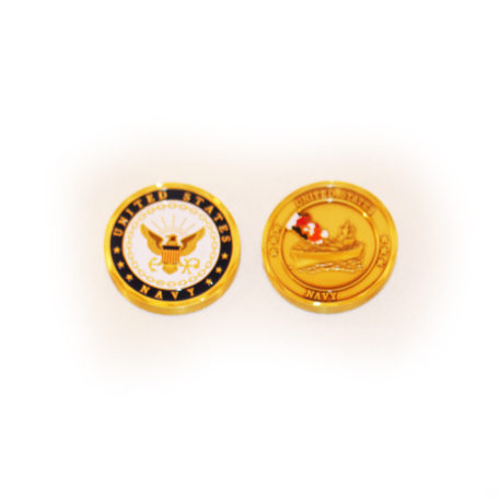 US Navy Coin