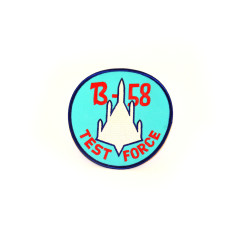 B-58 Test Force Round Patch