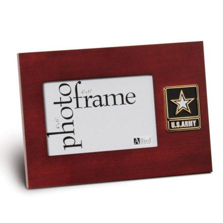 US Army Star Logo Medallion 4x6 Frame