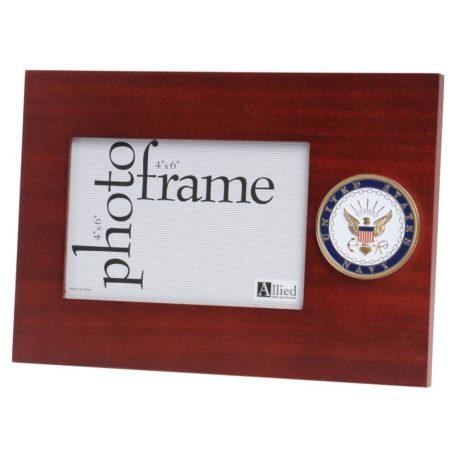 US Navy Medallion 4x6 Frame