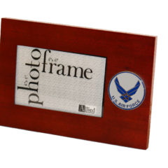 US Air Force New Logo Medallion 4×6 Picture Frame