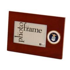 US Air Force Medallion 4×6 Picture Frame