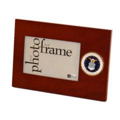 US Air Force Old Logo Medallion 4×6 Frame