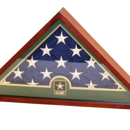 3268 Army Flag Shadowbox