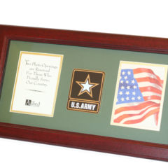 US Army New Logo Medallion Dual Picture