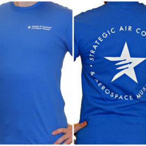 SACAM Logo Royal Blue T-Shirt