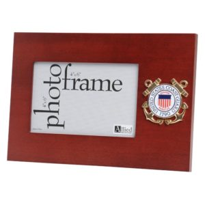 US Coast Guard Medallion 4x6 Frame