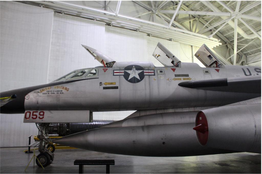 """B-58 """"Hustler"""" aircraft"""