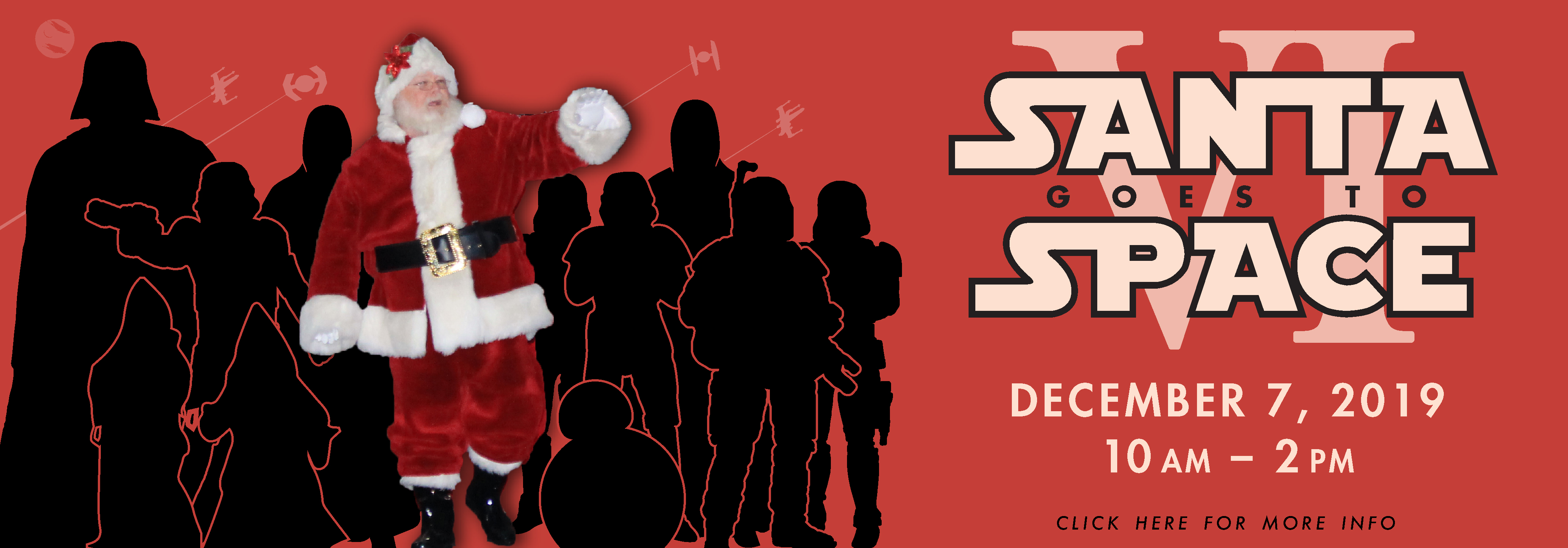 santa with star wars characters