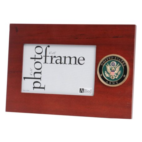 US Army Old Logo Medallion 4x6 Frame