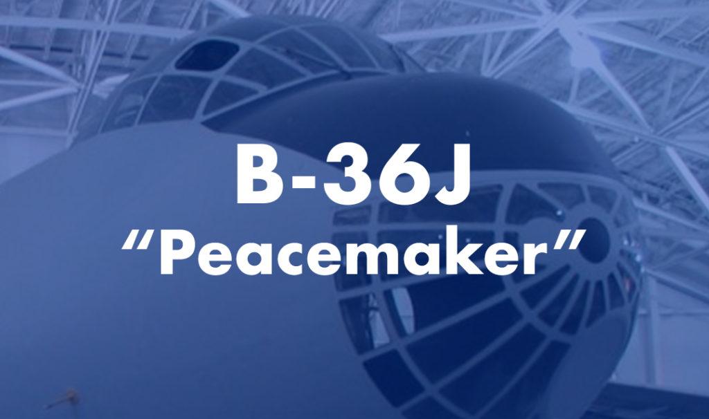 "B-36J ""Peacemaker"""