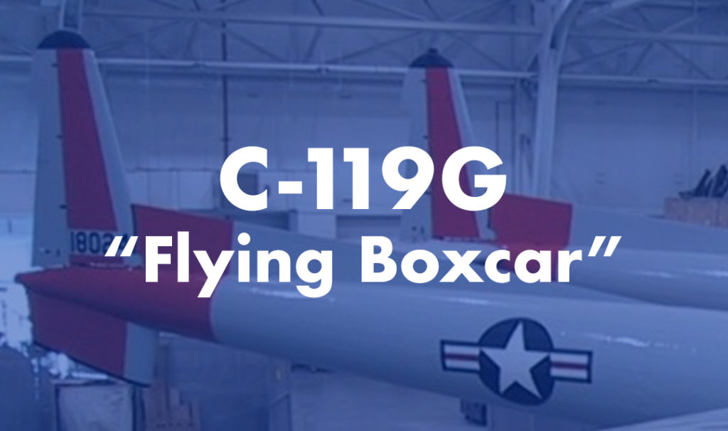 "C-119G ""Flying Boxcar"""