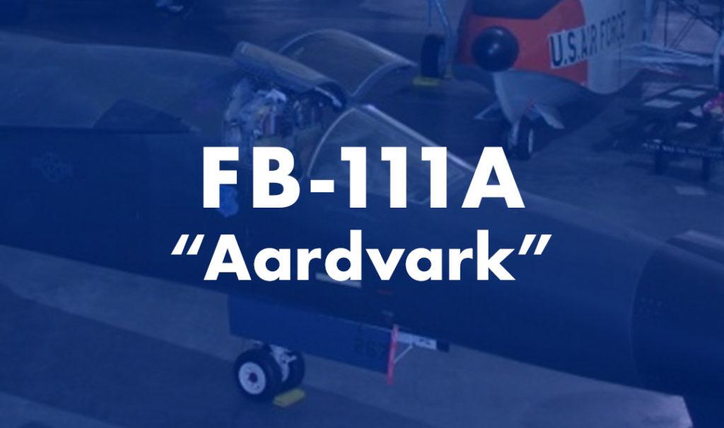 "FB-111 ""Aardvark"""