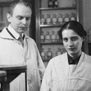 Otto Hahn & Lise Meitner